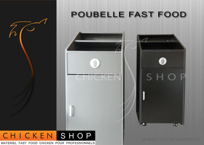 Poubelle Fast Food