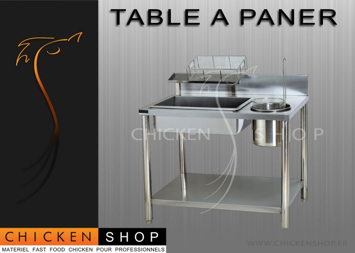 Table a Paner Chicken Fast Food